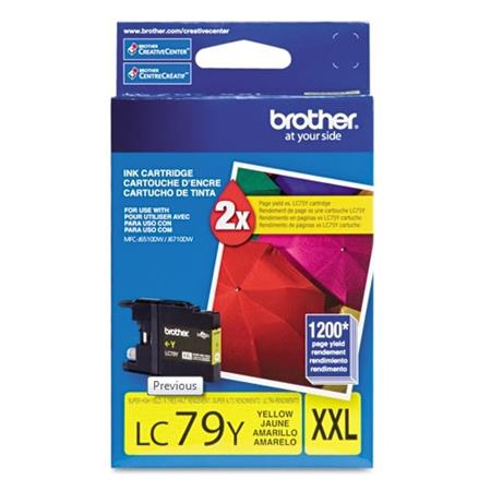 Brother LC79Y Original Yellow Super High-Yield Ink (LC-79Y)