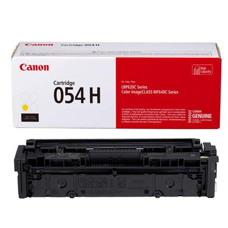 Canon 054HY (3025C001) Yellow Original High Capacity Toner Cartridge