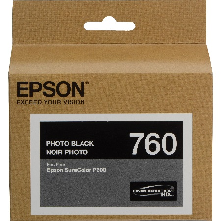 Epson T7601 (T760120) Photo Black Original Ink Cartridge