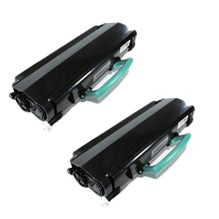 Compatible Twin Pack Black Lexmark X264H21G Toner Cartridges