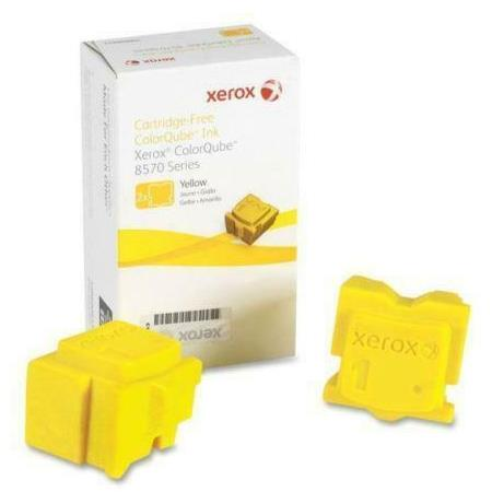 Xerox 108R00992 Yellow Original Solid Ink Cartridge 2 pack