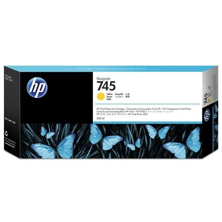 HP 745 (F9K02A) Yellow Original High Capacity Ink Cartridge