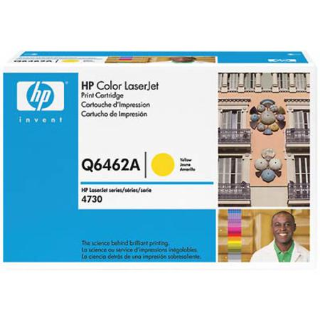 HP Color LaserJet Q6462A Original Yellow Toner Cartridge
