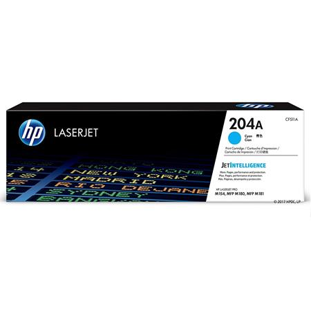HP 204A Cyan Original Toner Cartridge (CF511A)