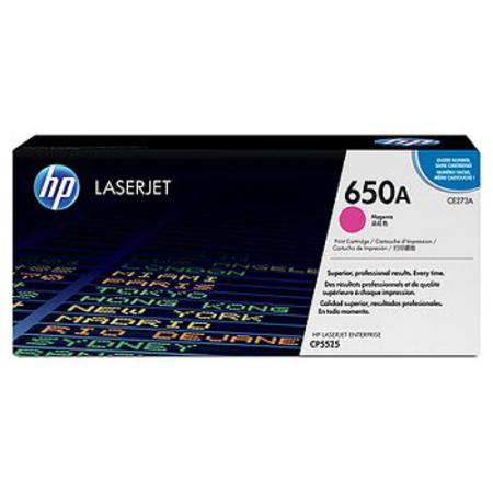 HP 650A (CE273A) Magenta Original LaserJet Toner Cartridge