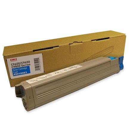 OKI 42918983 Cyan Original Toner Cartridge