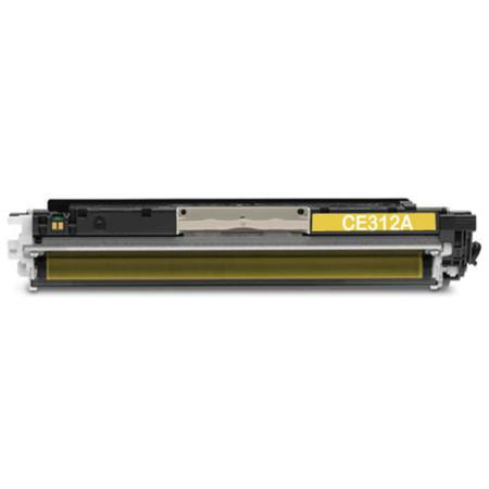 Compatible Yellow HP 126A Toner Cartridge (Replaces HP CE312Y)