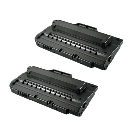 Compatible Twin Pack Black Samsung ML-2250D5 Toner Cartridges