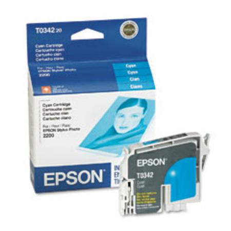 Epson T0342 (T034220) Original Cyan Ink Cartridge