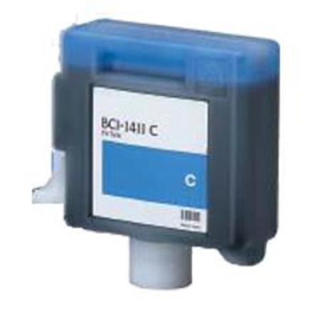 Compatible Cyan Canon BCI-1411C Ink Cartridge (Replaces Canon 7575A001AA)