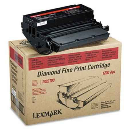 Lexmark 1382100 Original Black Diamond Fine Toner Cartridge