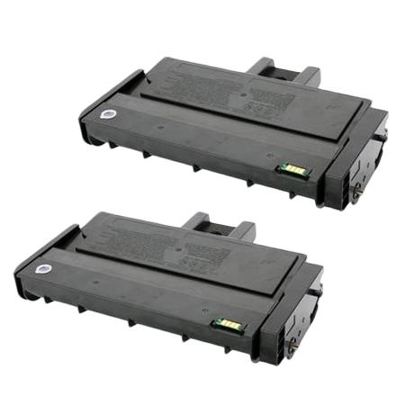 Clickinks 407258 Black Remanufactured Toner Cartridge Twin Pack