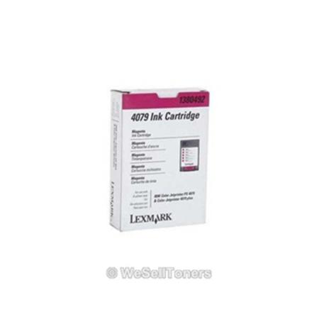 Lexmark 1380492 Magenta Original Cartridge