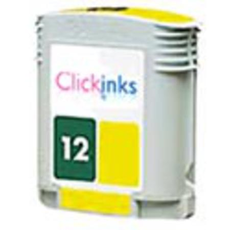 HP 12 Yellow Remanufactured Printer Ink Cartridge (C4806A)