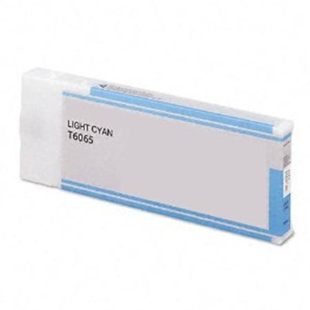 Compatible Light Cyan Epson T6065 Ink Cartridge (Replaces Epson T606500)