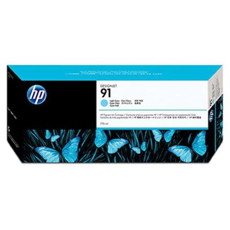 HP 91 (C9470A) Original Light Cyan Ink Cartridge