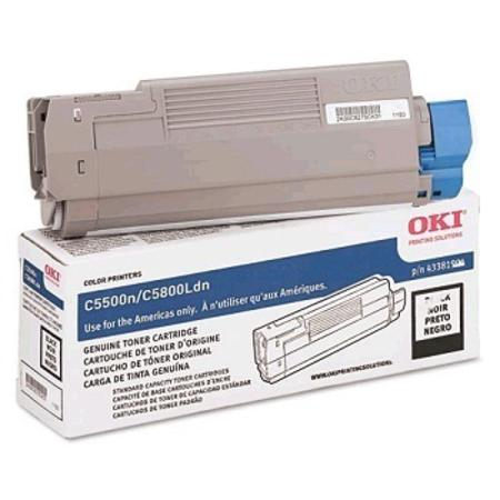 OKI 43381904 Black Original Standard Capacity Toner Cartridge