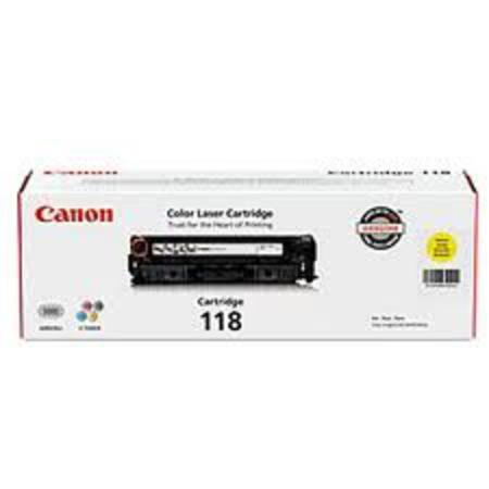 Canon 118 Yellow Original Toner Cartridge