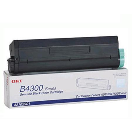 OKI 42102901 Black Original High Capacity Toner