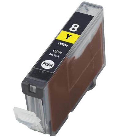 Compatible Yellow Canon CLI-8Y Ink Cartridge (Replaces Canon 0623B002)