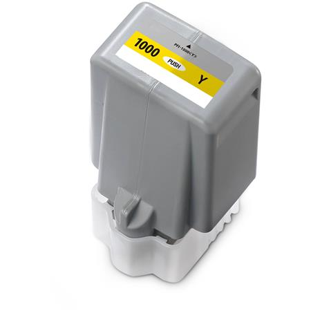 Compatible Yellow Canon PFI-1000Y Ink Cartridge (Replaces Canon 0549C001)