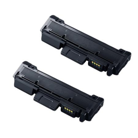MLT-D118L Black Remanufactured Toner Cartridge Twin Pack