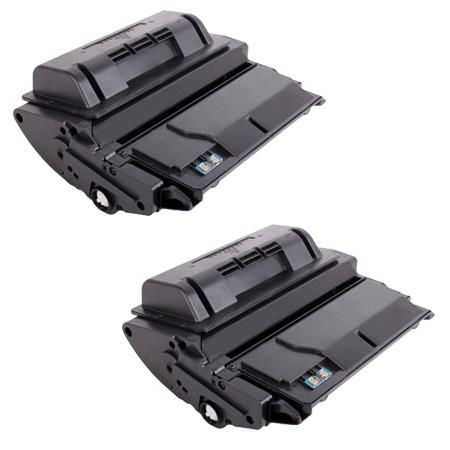 42A Black Remanufactured Toner Cartridges Twin Pack