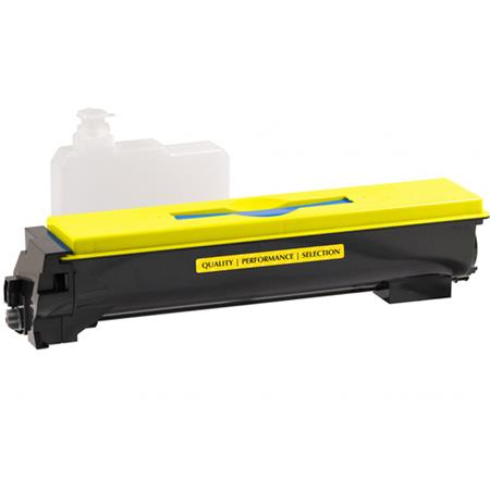 Kyocera TK-552Y Remanufactured Yellow Toner Cartridge