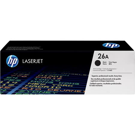 HP 26A Black  Original Standard  Capacity Toner Cartridge (CF226A)