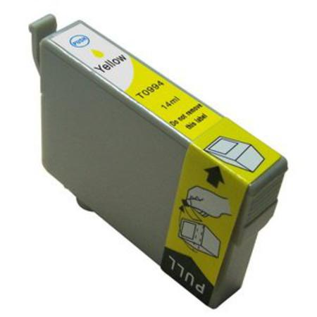 Epson T0994/T0984 Yellow Remanufactured High Yield Ink Cartridge