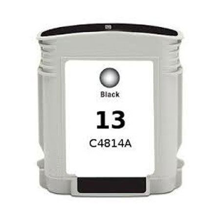 HP 13 Black Remanufactured Ink Cartridge (C4814A)
