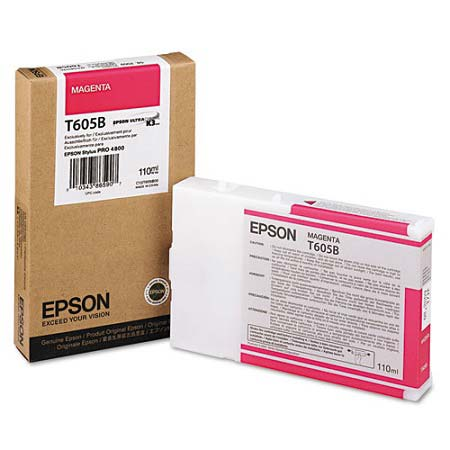 Epson T605B (T605B00) Original High Capacity Magenta Ink Cartridge