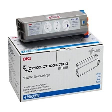 OKI 41963003 Cyan Original Toner Cartridge