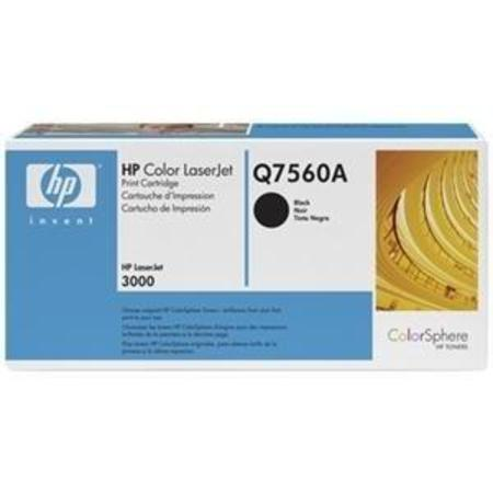 HP Color LaserJet Q7560A Black Original Print Cartridge with HP ColorSphere Toner