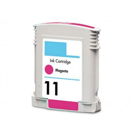 HP 11 Magenta Remanufactured Printer Ink Cartridge (C4837AN)