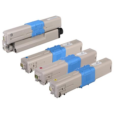 46508701/46508704 Full Set Original Toner Cartridges