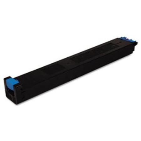 Sharp MX27NTCA Cyan Remanufactured Toner Cartridge