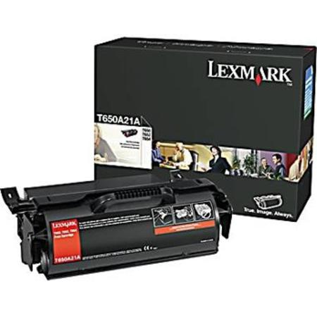 Lexmark T650A11A (T650H21A) Black Original Toner Cartridge