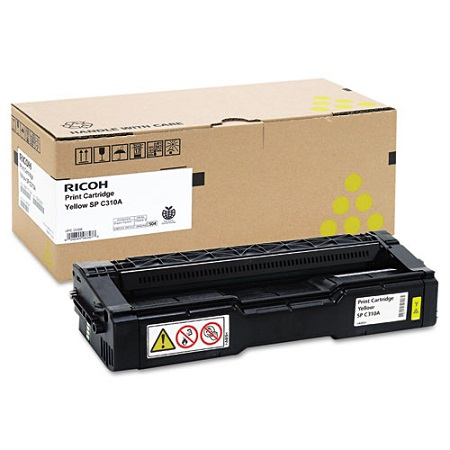 Ricoh 406347 Yellow Original Standard Capacity Toner Cartridge