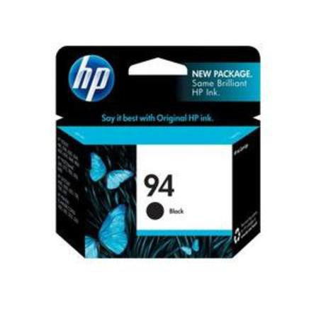 HP 94 Black Original Inkjet Print Cartridge with Vivera Ink (C8765WN)