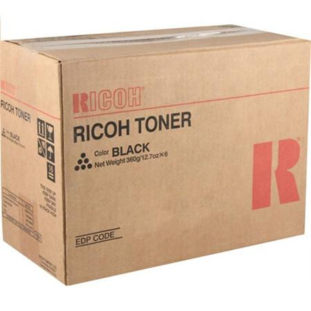 Ricoh 407321 Black Original Standard Capacity Toner Cartridge