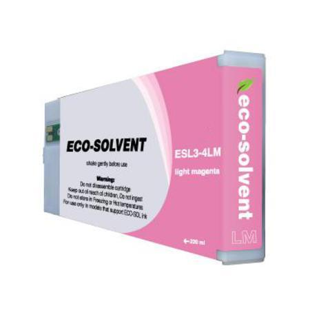 Roland ESL3-4LM Light Magenta Compatible Eco-Sol MAX Standard Capacity Ink Cartridge