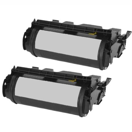 310-4132 Black Remanufactured Standard Capacity Toners Twin Pack