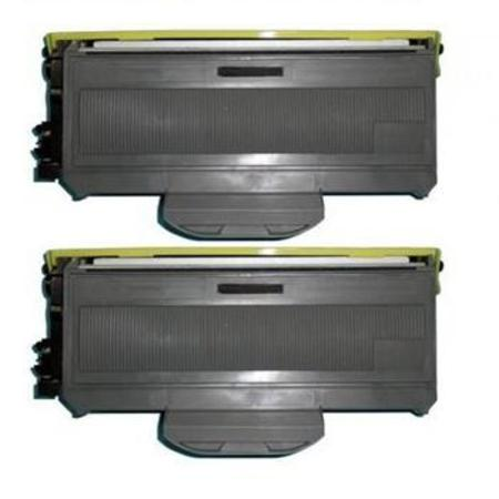 Compatible Twin Pack Brother TN360 Black Toner Cartridges