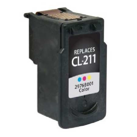 Compatible Color Canon CL-211 Ink Cartridge (Replaces Canon 2976B001)