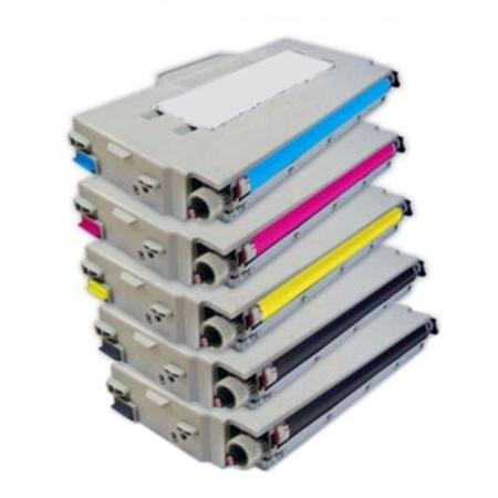 TN04BK Full Set +  1 EXTRA Black Remanufactured Toner Cartridge