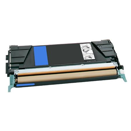 Lexmark C748H1CG Cyan Remanufactured High Capacity Toner Cartridge