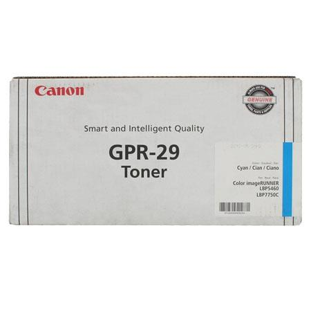 Canon GPR-29 Cyan Original Toner Cartridge (2643B004AA)