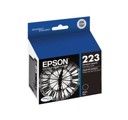 Epson 223 (T223120) Black Original Standard Capacity Ink Cartridge