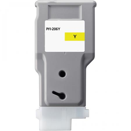 Canon PFI-206Y (5306B001AA) Yellow Compatible Ink Cartridge